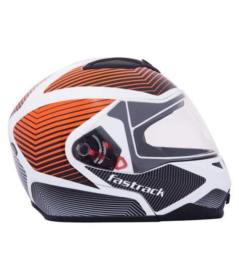 Fastrack Helmets Way2speed fastrack hd02or02 open helmet orange l buy