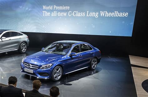 mercedes benz introduces long wheelbase  class  china