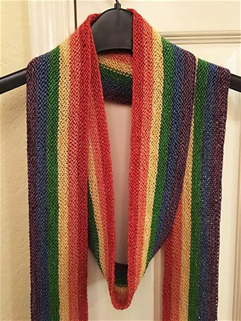 knitting patterns galore scarves knitting patterns galore long rainbow scarf