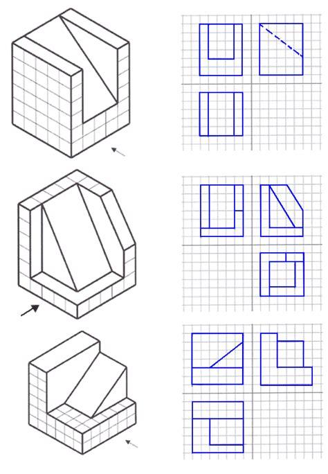 vistas leo con soluciones vistas ortogonales de un objeto soluciones de examen de