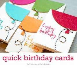 cool and easy birthday cards best 25 easy birthday cards ideas on diy