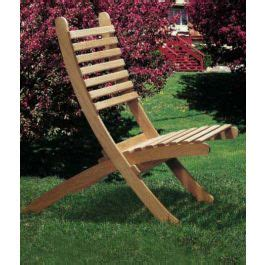 woodworkers journal portable outdoor chairs plan