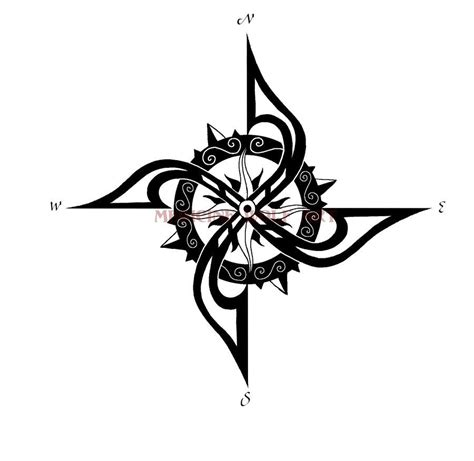 compass tribal tattoo compass tribal zoeken tats