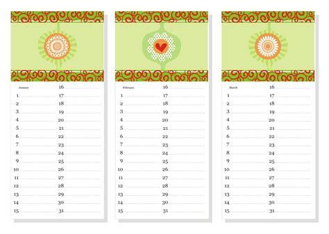 free printable birthday calendar templates printable birthday calendar 2017 printable calendar