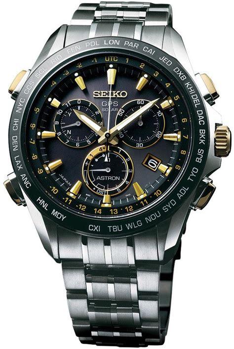 Seiko Sas032j Astron Gps Solar Black Gold 17 best images about seiko astron watches on