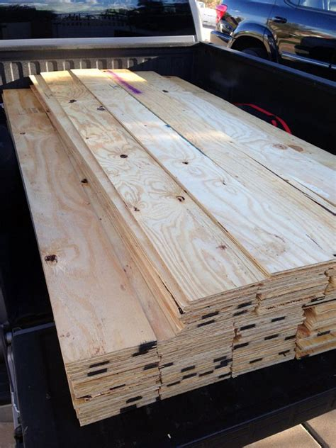 shiplap made from plywood cut down a few sheets of plywood and use them for the