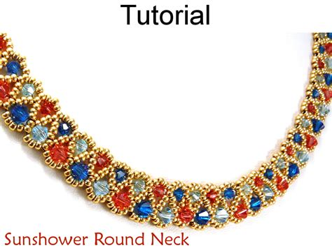 beading tutorial pattern necklace beadweaving