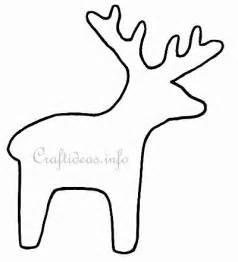 best photos of felt reindeer patterns printable free