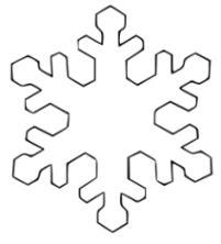 Kostenlose Vorlage Schneeflocke Malvorlagen Zum Drucken Ausmalbild Schneeflocke Kostenlos 2