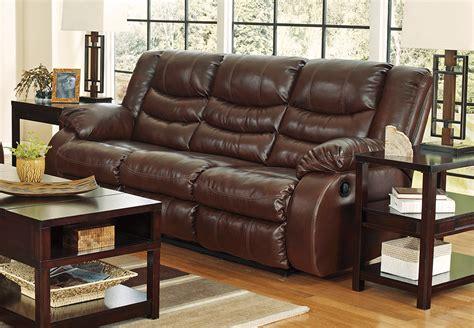 linebacker durablend espresso reclining sofa cincinnati