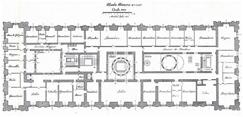 palace floor plans the devoted classicist palacio de liria the madrid