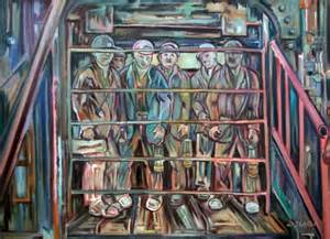 Coal mining gallery derek slater artist