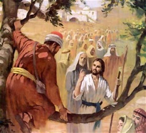 imagenes de jesus en casa de zaqueo biografia de zaqueo