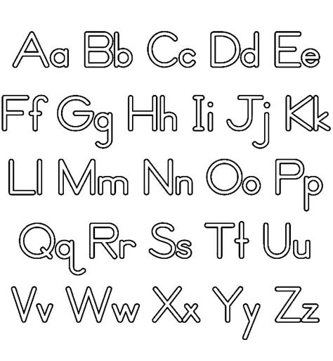 fun alphabet upper and lower case learning abc upper case and lower case coloring page