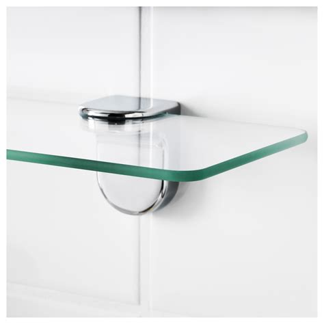 Kalkgrund Glass Shelf 62x11 Cm Ikea Ikea Glass Shelves Bathroom