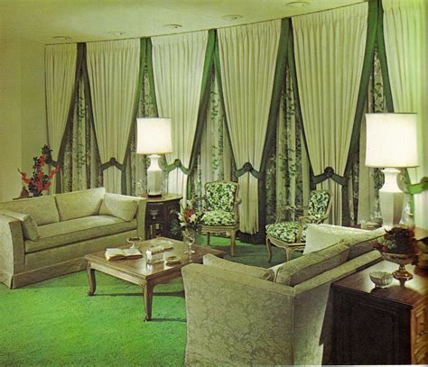 house decor groovy interiors 1965 and 1974 home d 233 cor flashbak