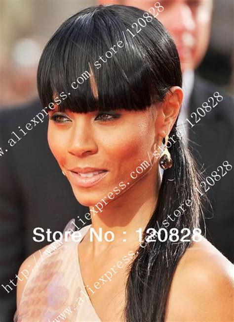 chinese bangs on black women chinese bangs black hairstyle