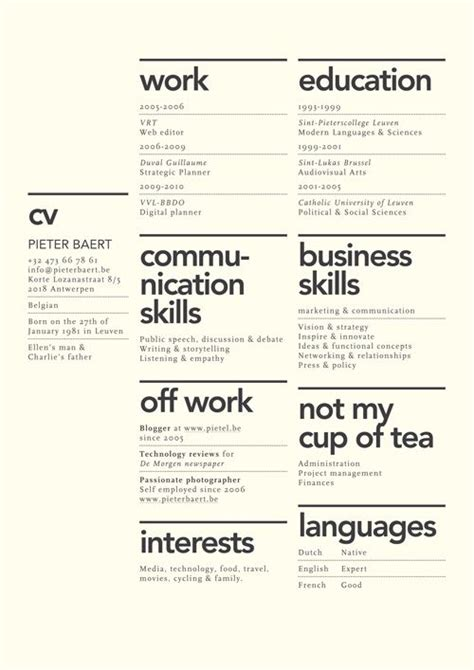 resume as wanted poster by tom prager via behance 40 creative resume templates you ll want to steal in 2018