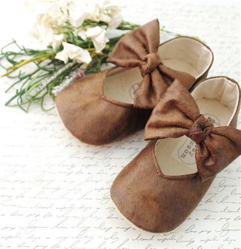 brown baby shoes brown baby shoes infant shoes toddler by