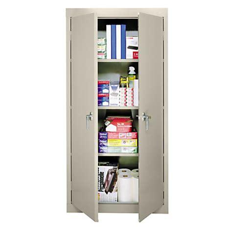sandusky 30 steel storage cabinet with 3 fixed shelves