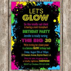 glow in the invitations theruntime