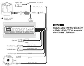 mallory 42series wiring wire diagrams easy simple detail ideas general exle mallory ignition
