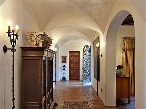 spanish interiors homes spanish colonial revival home hall interior design