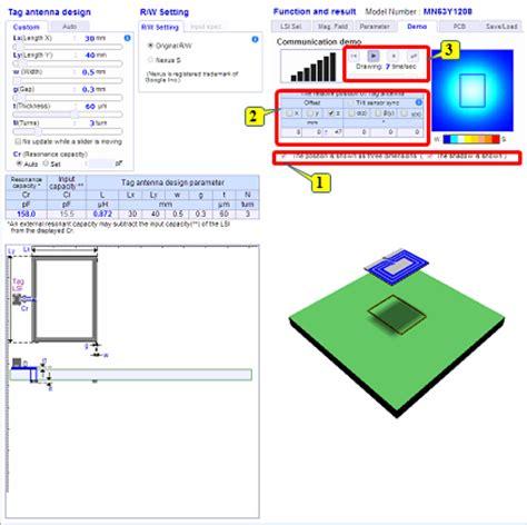 tutorial antenna web design tutorial nfc tool semiconductor panasonic