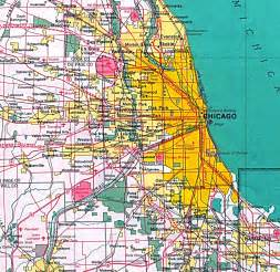 Chicago Illinois Us Map by Similiar Map Of Downtown Chicago Area Keywords