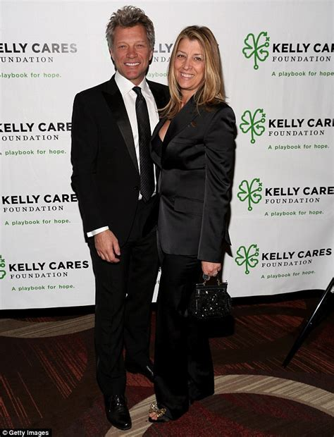 Jon Bon Jovi the doting husband poses with wife ahead of