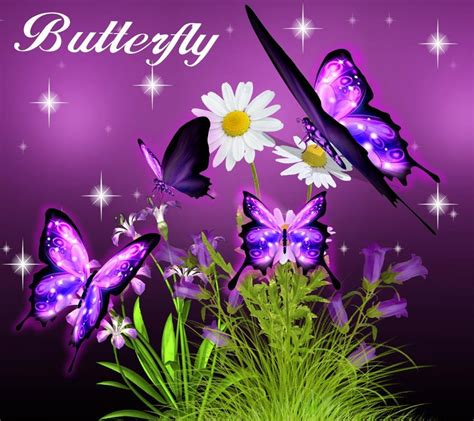 live butterfly themes 3d neon butterfly theme android apps on google play