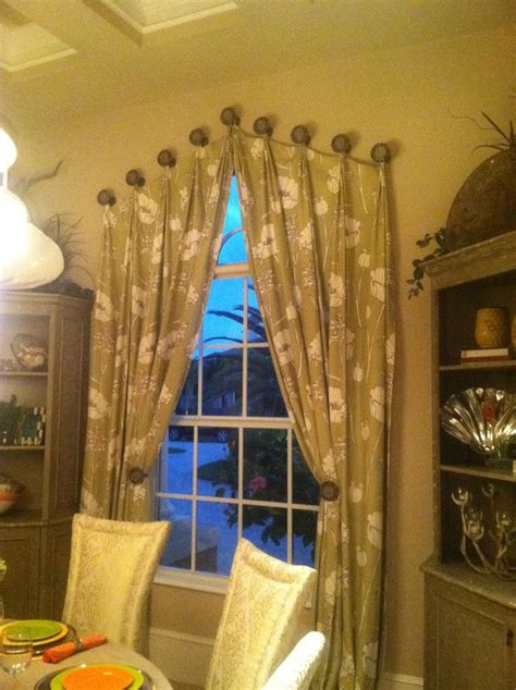 how to hang curtain holdbacks 166 best drapery medallions images on pinterest shades