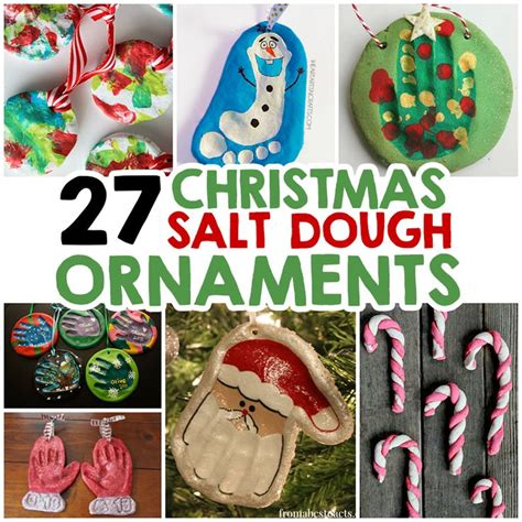 27 christmas salt dough ornaments for kids salt dough