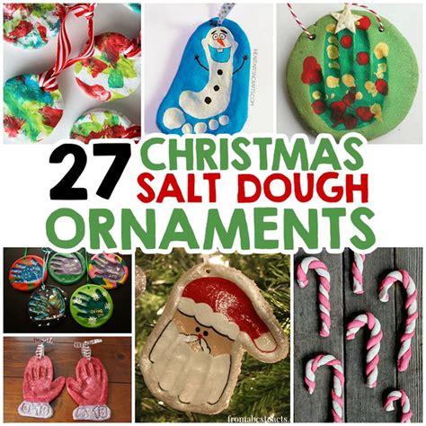 27 christmas salt dough ornaments for kids salt dough