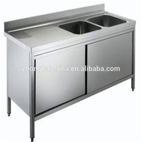 stainless steel sink base cabinet metal kitchen sink base cabinet stainless steel kitchen