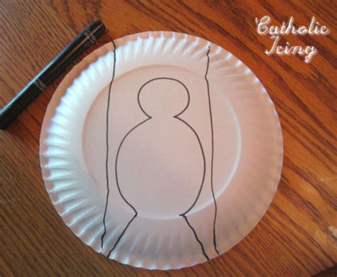 Paper Dove Craft - search results for paper plate dove template calendar 2015