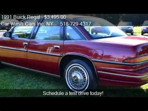 free car manuals to download 1991 buick regal auto manual 1991 buick regal custom sedan for sale in glenmont ny 120 youtube