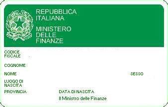 ufficio codice fiscale codice fiscale