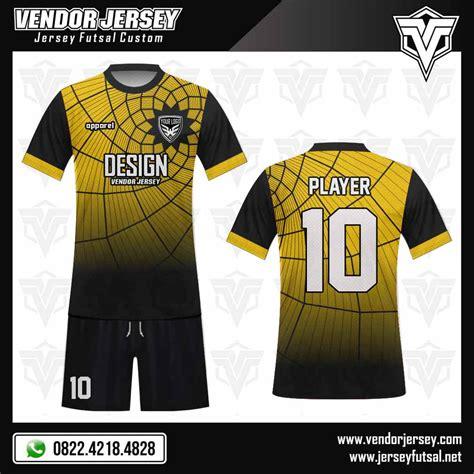 desain kaos futsal kuning hitam desain kaos futsal la maggica vendor jersey futsal