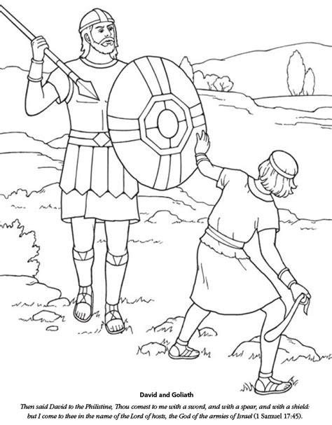 david and goliath coloring pages for toddlers lds games color time david and goliath church
