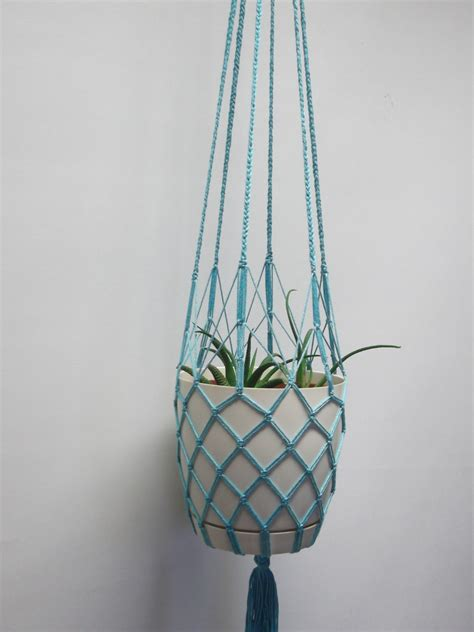 Macrame String - thin cotton string macrame plant hanger hanging planter
