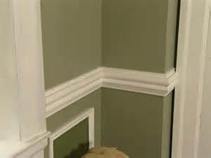 Chair Rail Moulding Ideas » Home Design