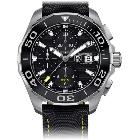 Tag Heuer Calibre Black Rubber A 7750 the global db
