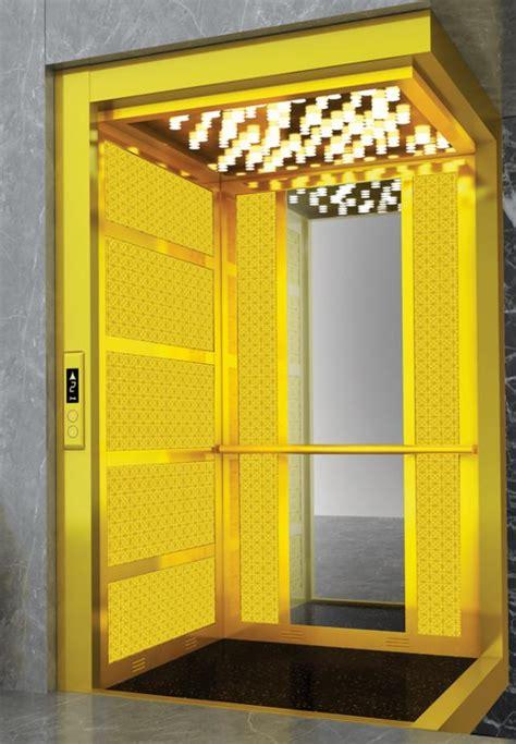 elevator cabin gold elevator cabin gold lift cabin