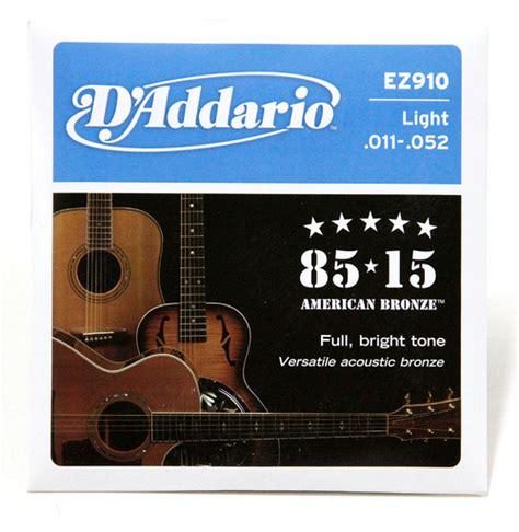 Daddario Ej13 011 Senar Gitar Acoustic D Addario Akustik Original Usa accessories sixstrings