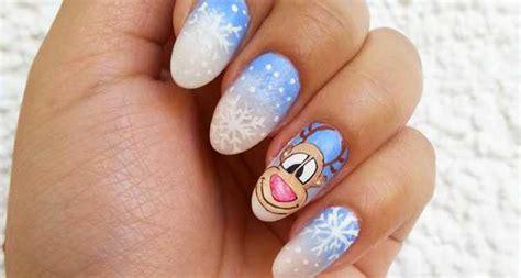tutorial nail art pupazzo di neve nail art con renna e fiocchi di neve tutorial beautydea