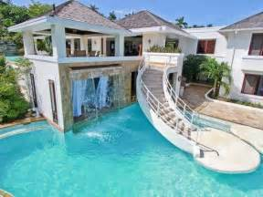 house with pools image for dream house with pool and slide henna