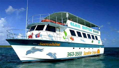 glass bottom boat tour grand bahama island nassau cruise port shore excursions review and travel