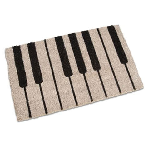 piano desk mat piano coir doormat at the stand