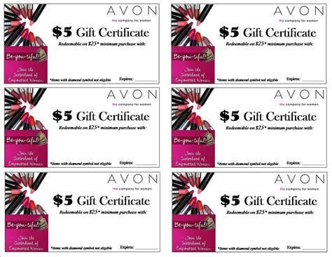 avon gift certificates templates free sweet and spicy bacon wrapped chicken tenders open house